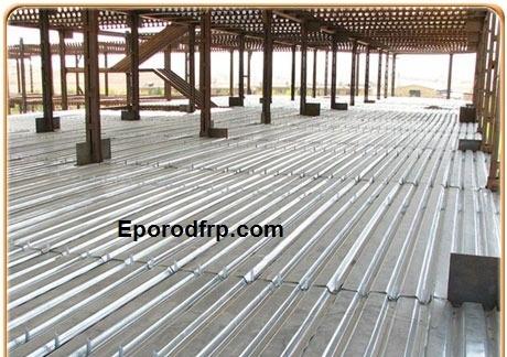 دال های بتنی + استفاده از میلگردهای کامپوزیتی در دال های بتنی ساختمانی