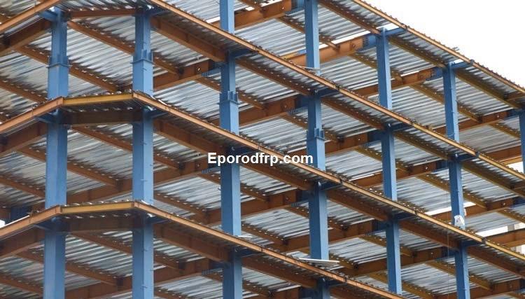 استفاده از میلگردهای کامپوزیت در سقف کاذب بتنی + معایب و مزایا