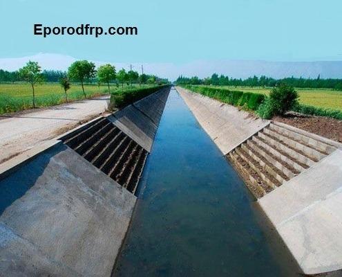 استفاده از میلگرد کامپوزیت در ساخت کانال های رو باز و لوله های بتنی هدایت آب