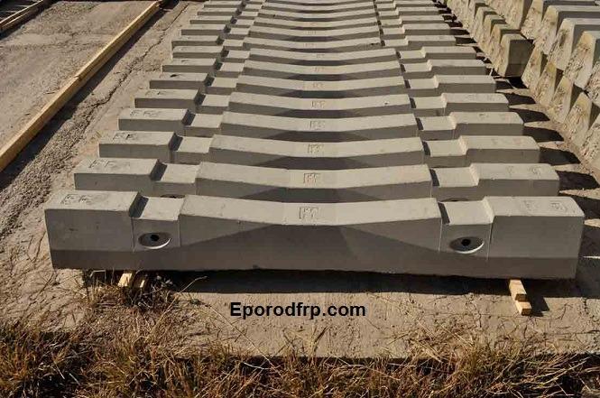 استفاده از میلگرد کامپوزیت در ساخت تراورس های خطوط راه آهن قطار
