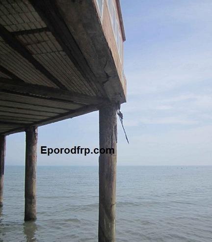 استفاده از میلگرد کامپوزیت و راهکار های مقاوم سازی سکوهای حفاری دریایی