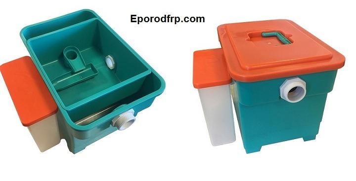 استفاده از میلگرد های کامپوزیت GFRP در تاسیسات فاضلاب مانند چربی گیر